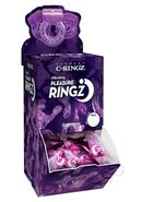 Vibrating Pleasure Ringz Disposable Cockring 36 Per Bowl