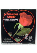 Le Sensuous Sheath Kandie Kondoms 4 Pack