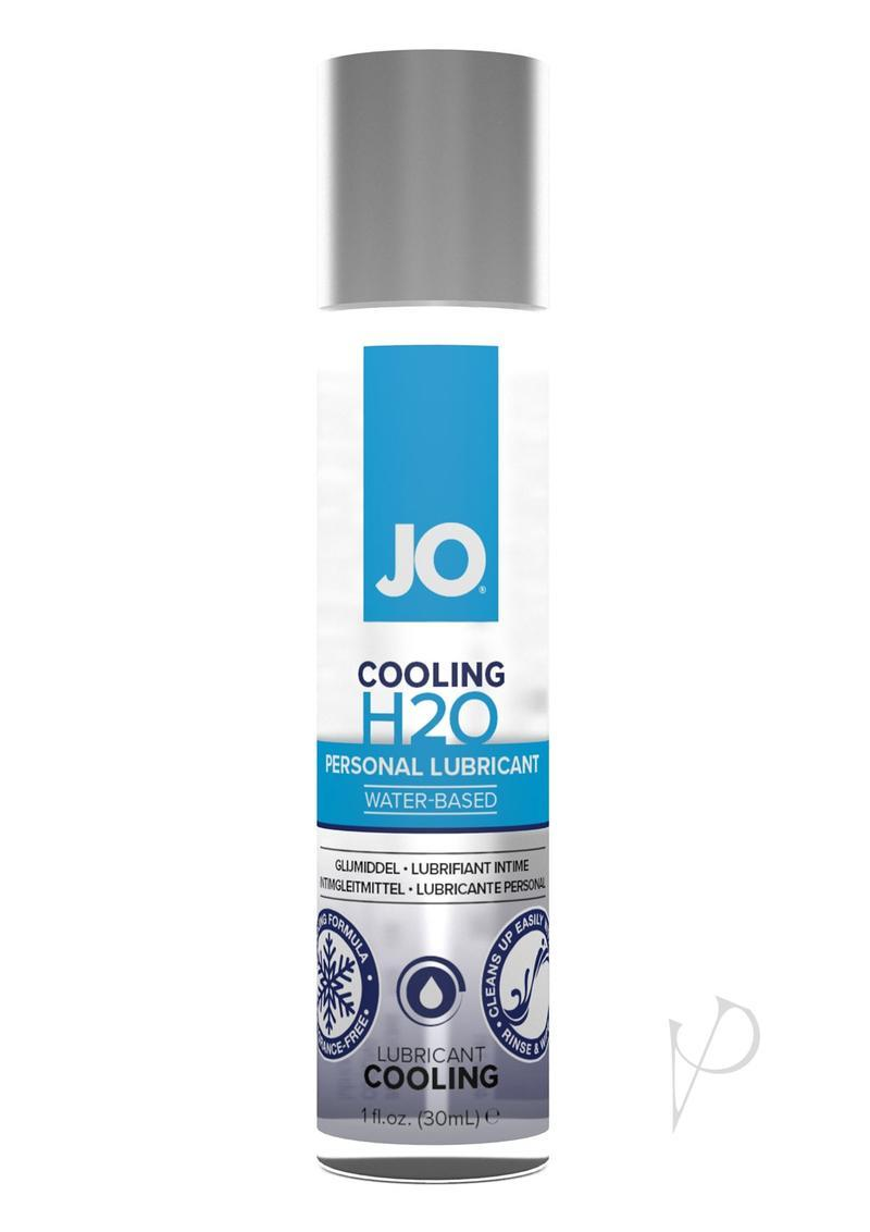 Jo H2o Water Based Personal Lubricant Cooling 1 Ounce